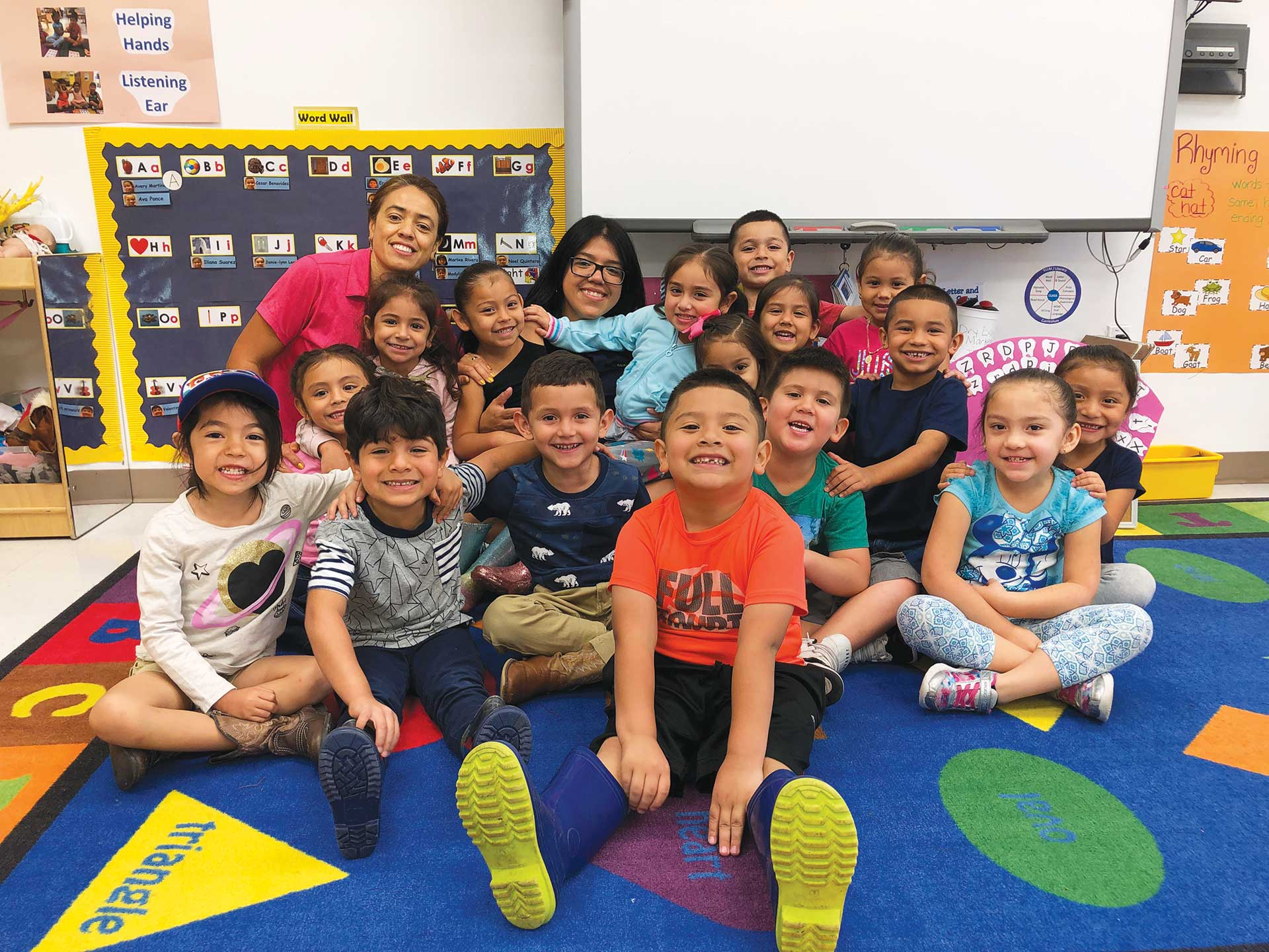 Guadalupe Center Early Childhood Education Program Students