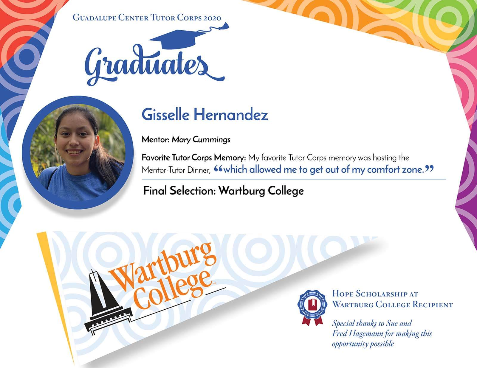 Gisselle Hernandez Guadalupe Center Tutors Corps Graduate