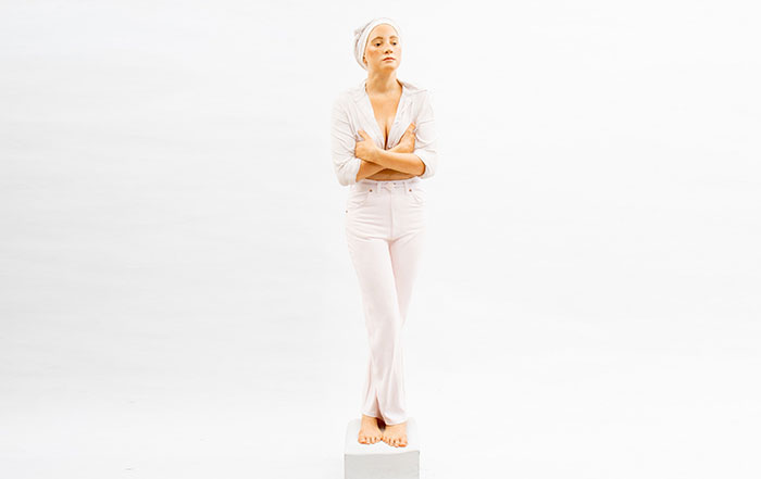 Image of Woman Standing