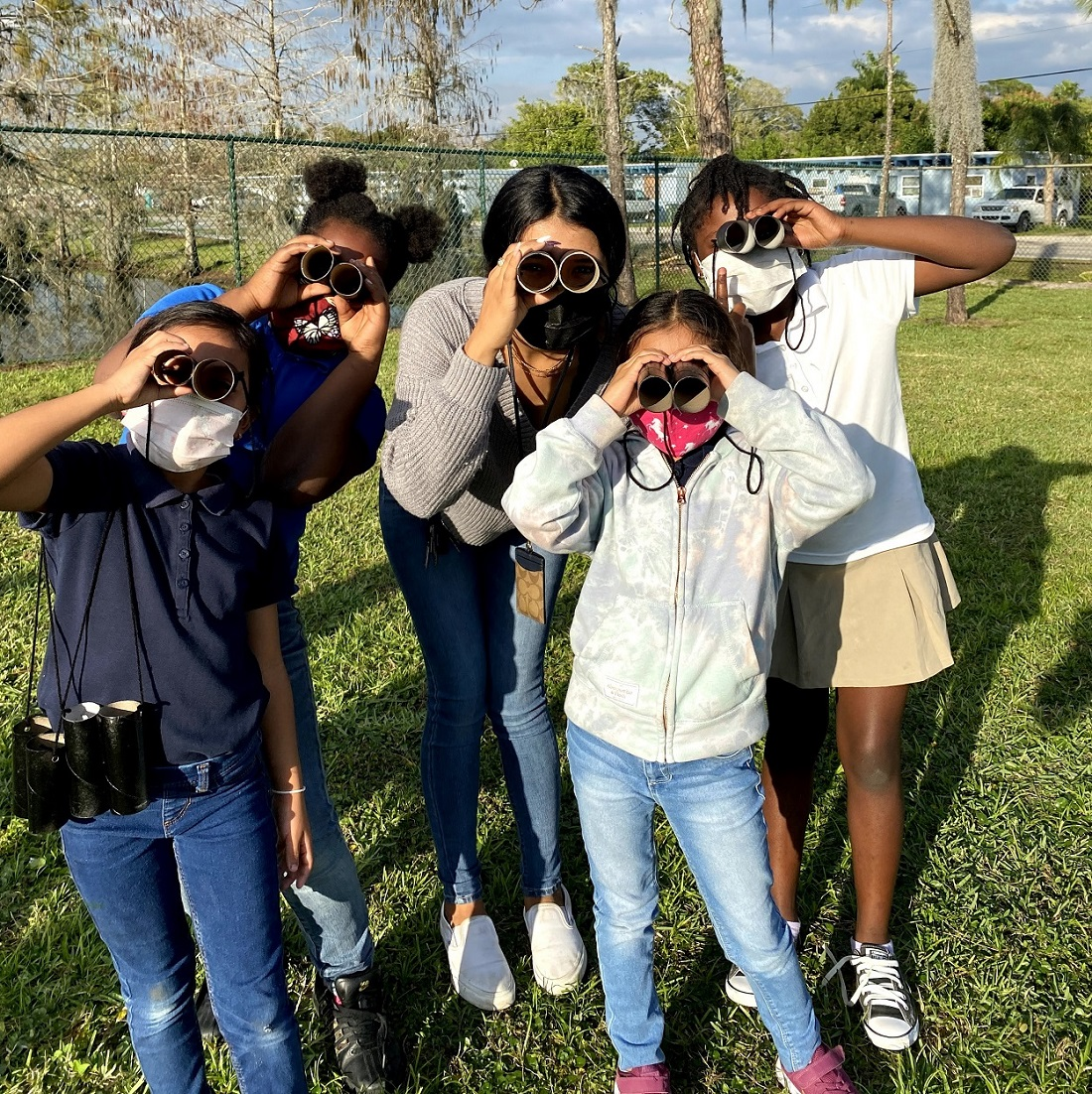 Virtual buddies continue Buddy Day tradition for Immokalee students